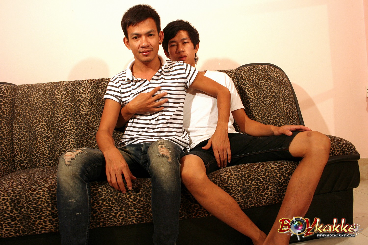 Boykakke-Big-Cum-Neck-Fongenee-Nut-Lakdee01 Amateur Asian Twinks Fuck and Eat Each Others Cum
