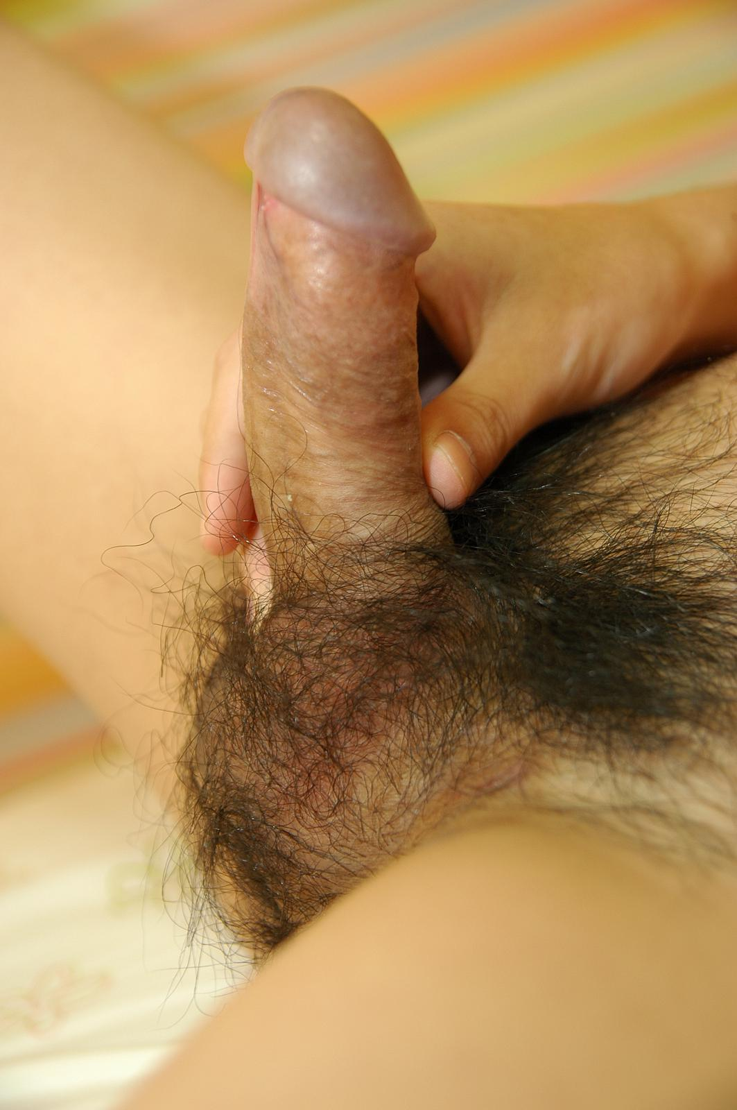 Japan-Studs-Shintaro-Ikeda-jerk-off-cum-Asian-big-cock-06 Japanese Street Boy Jerks Hairy Uncut Asian Cock and Cums For Cash
