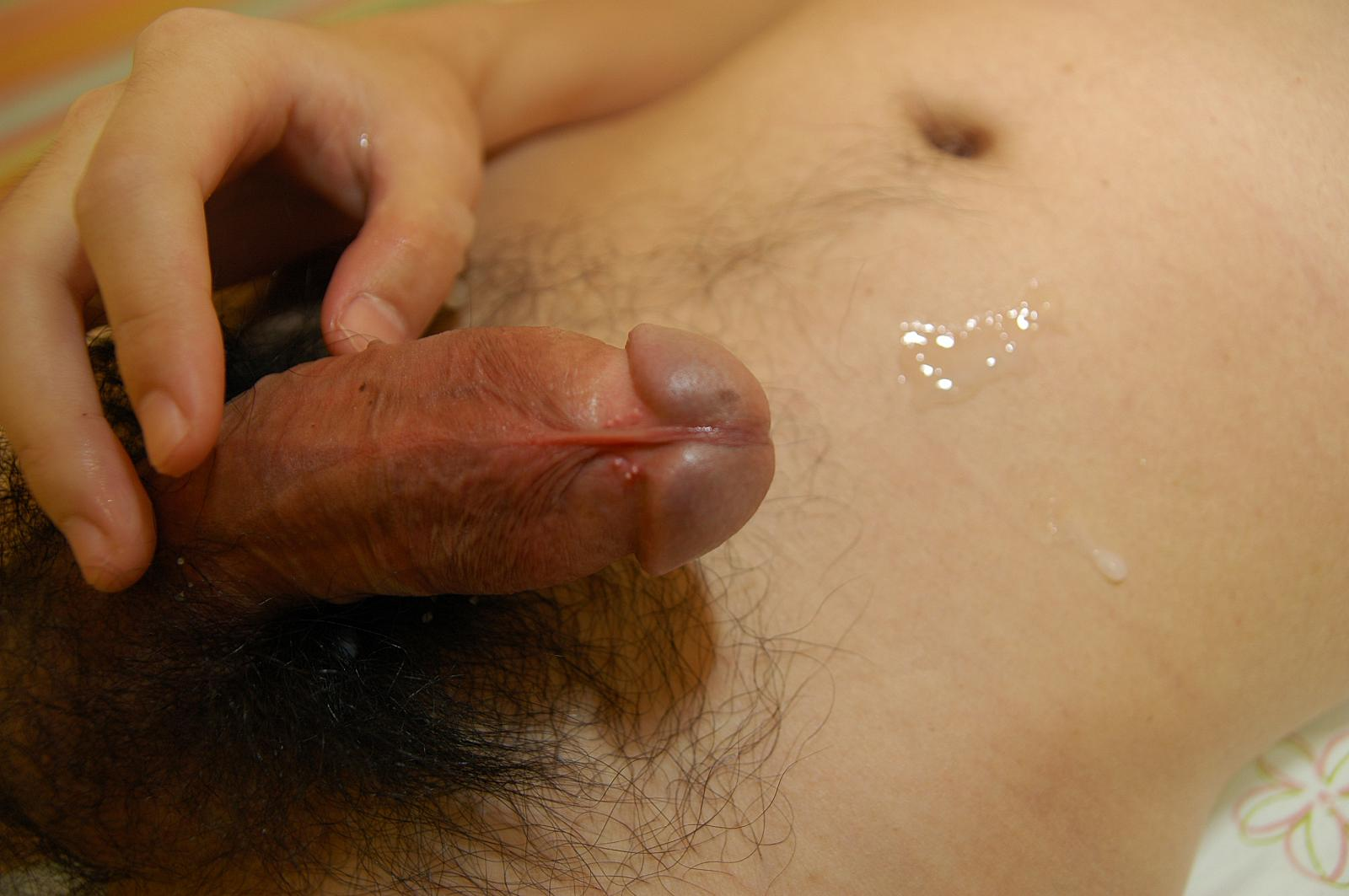 Japan-Studs-Shintaro-Ikeda-jerk-off-cum-Asian-big-cock-13 Japanese Street Boy Jerks Hairy Uncut Asian Cock and Cums For Cash