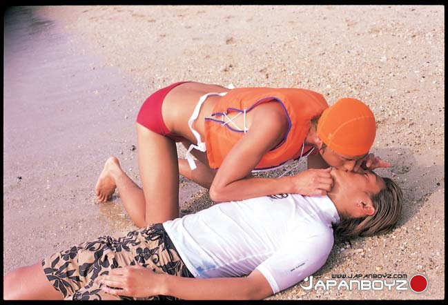 JapanBoyz Toshiyu Nomura Koichi fucking 03 Amateur Asian Surfer and Asian Lifeguard in Hot Bareback Sex
