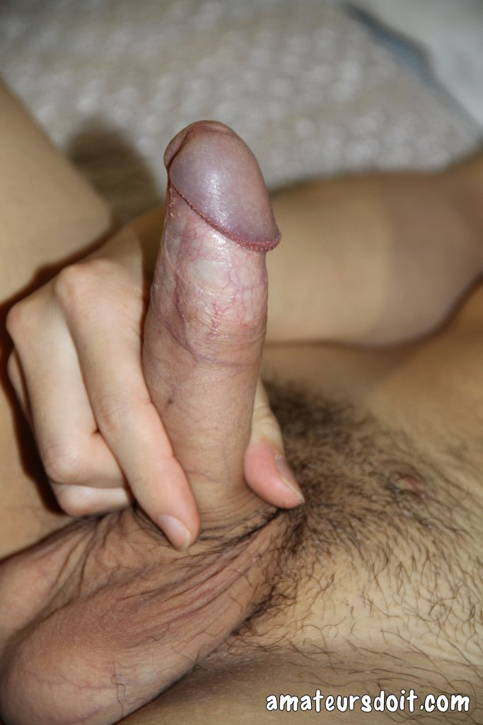 Asian Cock Uncut Amateur Twink Jerks His Big Thick