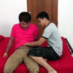 Gay Asian Twinkz Bareback Twinks With an ass full of cum Amateur Gay Porn 02 150x150 Amateur Straight Asian Twink Gets Barebacked and Creamed In The Ass