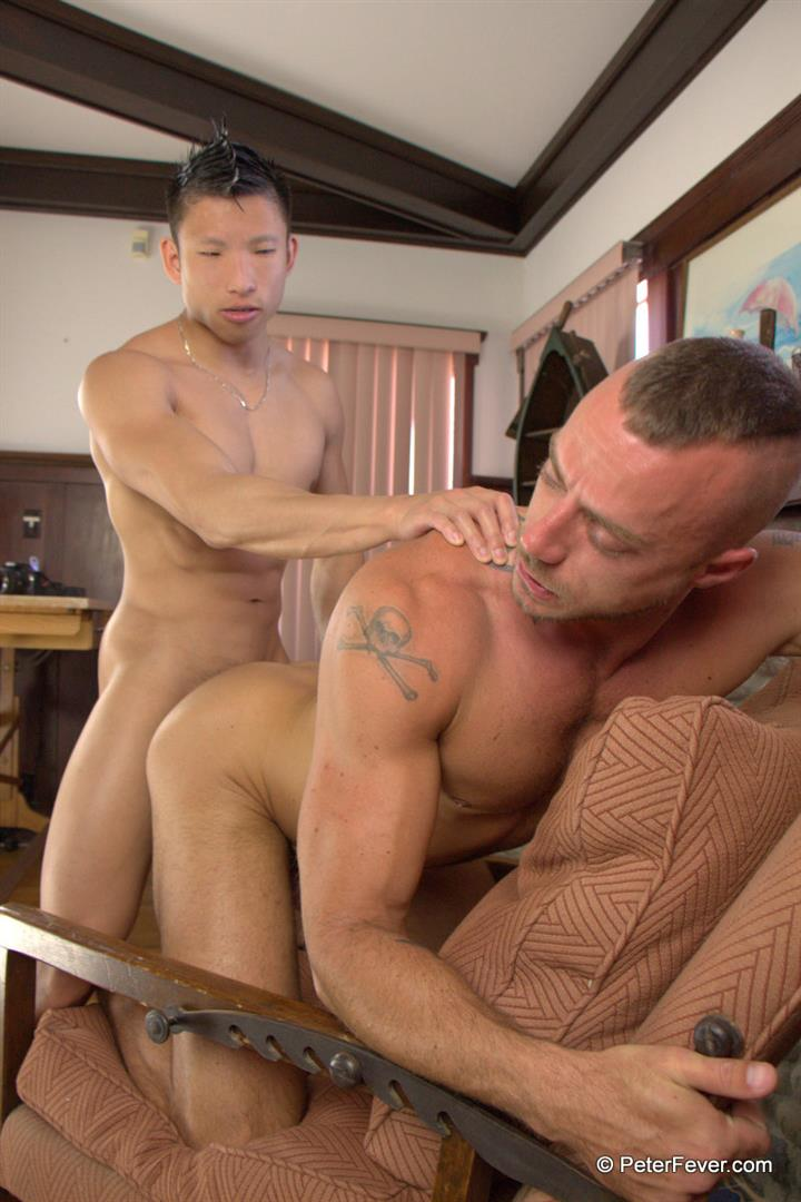 Peter Fever The Asiancy Peter Lee and Jessie Colter Big Cock Asian Guy Fucking White Muscle Guy Amateur Gay Porn 14 Big Asian Cock Stud Fucks A White Muscle Guy In His Bubble Butt