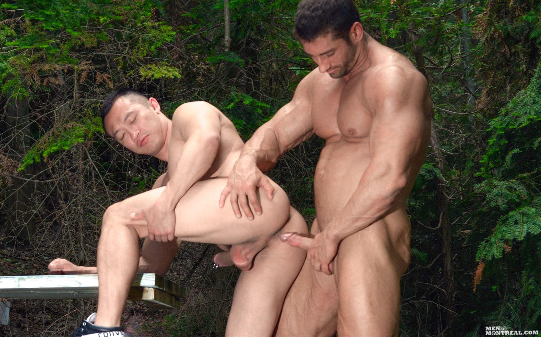 Men of Montreal Archer Quan and Christian Power Asian Muscle Man Gets Fucked In The Ass By Hunk Big Asian Cock Amateur Gay Porn 13 Canadian Lumberjack Fucks A Muscle Asian Hunk In The Ass