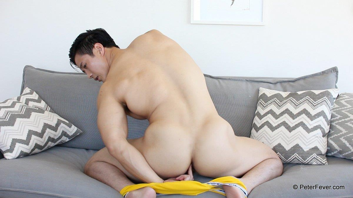 PeterFever Peter Le Big Asian Cock In Jock Jerking Off Amateur Gay Porn 15 Amateur Peter Le Playing With His Tight Ass And Big Asian Cock