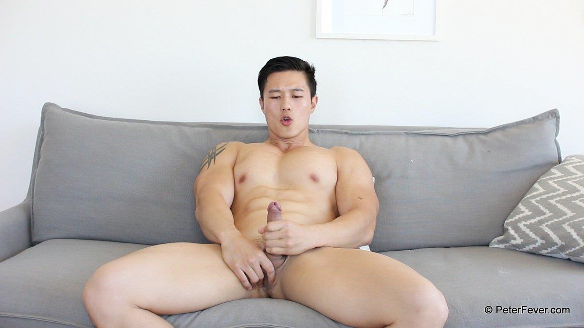 PeterFever Peter Le Big Asian Cock In Jock Jerking Off Amateur Gay Porn 18 Amateur Peter Le Playing With His Tight Ass And Big Asian Cock