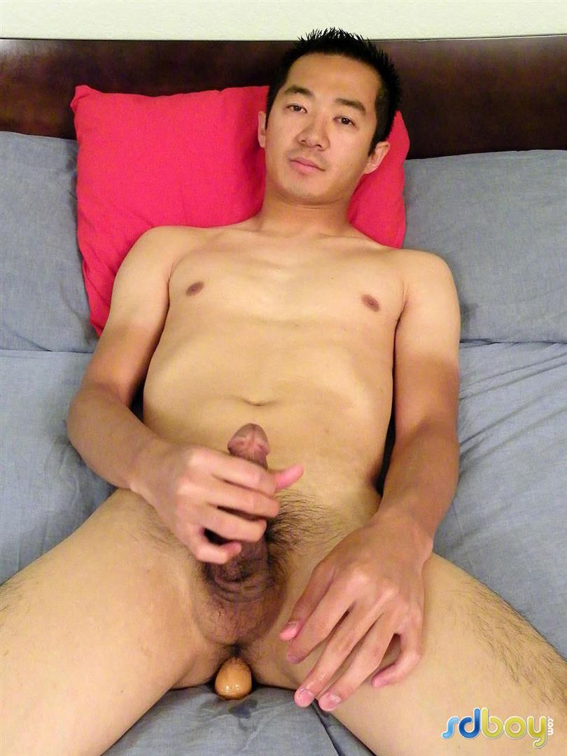 SDBoy Mitsuo Navy Asian Guy With Big Cock Jerking Off Amateur Gay Porn 06 Straight US Navy Officer Jerks His Big Thick Asian Cock