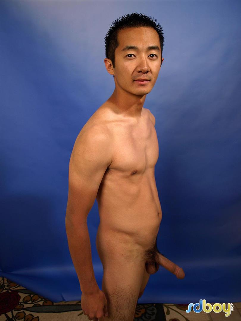 SDBoy Mitsuo Navy Asian Guy With Big Cock Jerking Off Amateur Gay Porn 19 Straight US Navy Officer Jerks His Big Thick Asian Cock
