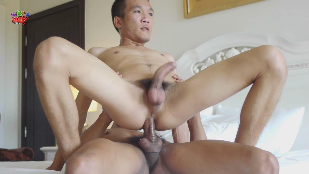 Hot asian boy butt ass geile
