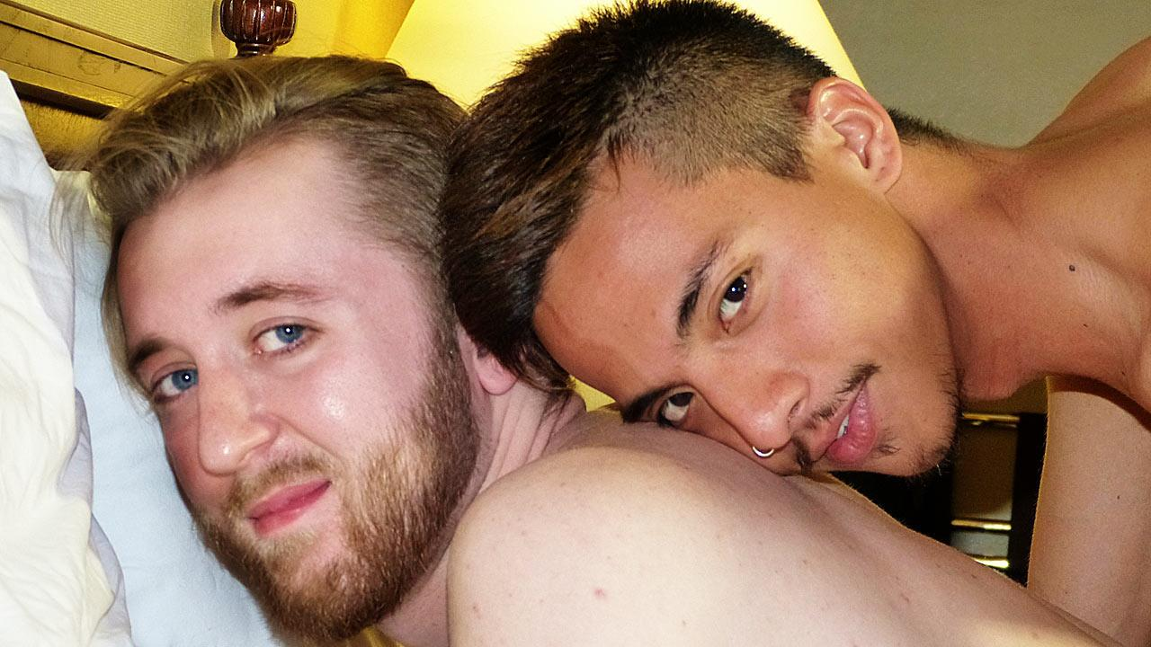 Asian Boy Nation Kenny Yama and Ash Kendall Big Asian Cock Fucking a Redhead Amateur Gay Porn 01 Horny Redhead Gets Fucked By An Asian With A Big Cock