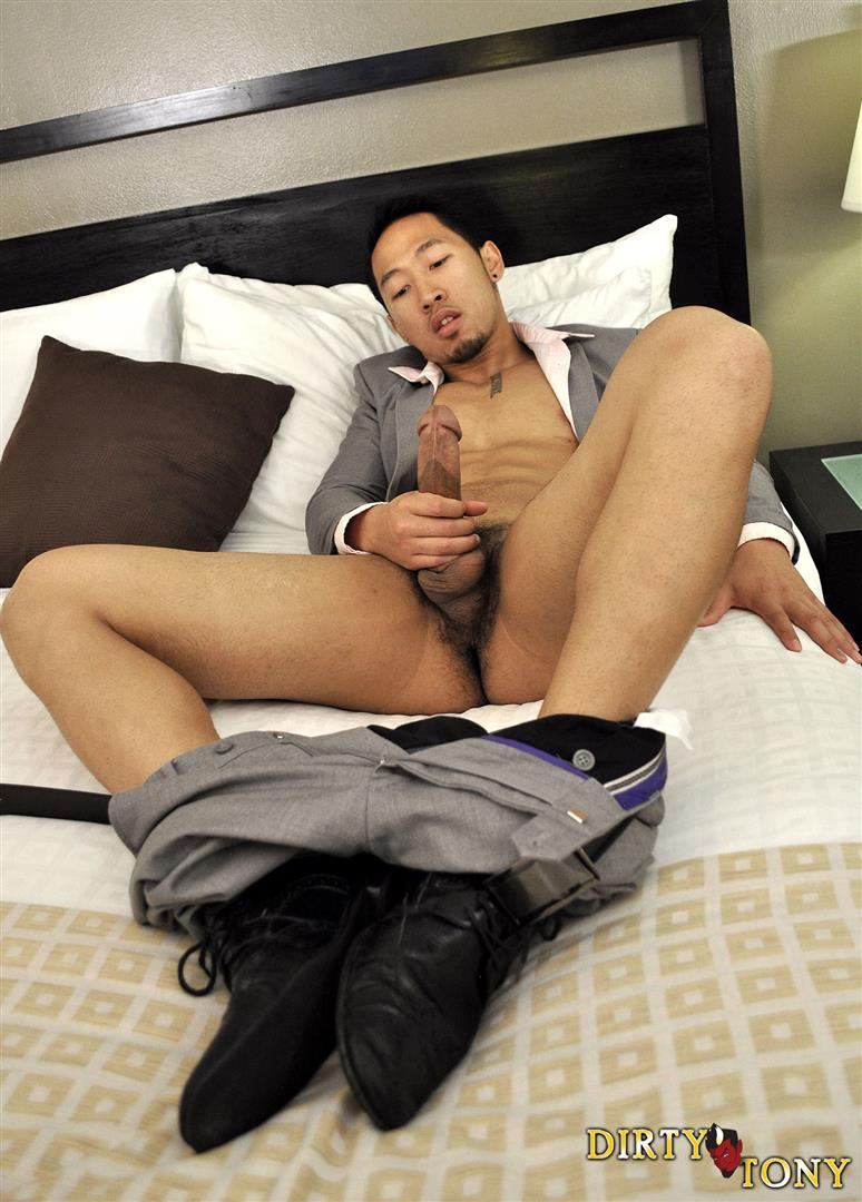 Dirty Tony Ryan Allen Asian Guy In Suit With A Big Asian Cock Jerk Off Amateur Gay Porn 04 Amateur Asian Guy In Business Suit Stroking His Huge Asian Cock