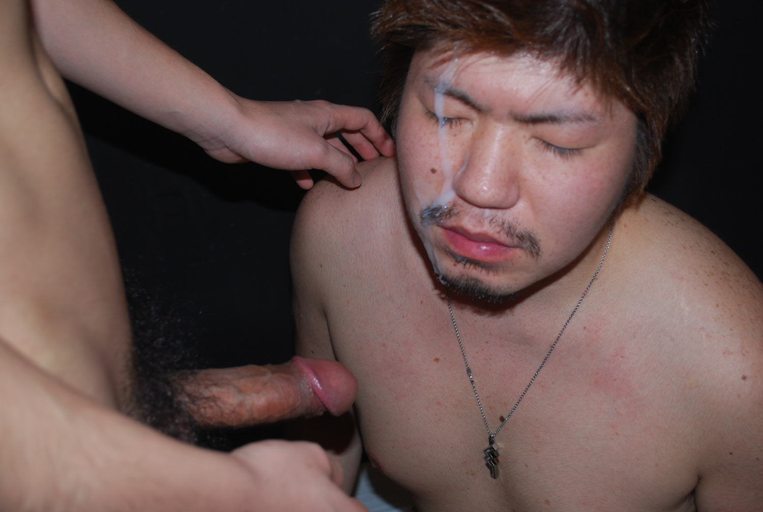 JapanBoyz Keisuke and Shinji Big Cock Asian Guys Give Each Other Cum Facial Amateur Gay Porn 13 Big Cock Asian Boys Give Each Other HUGE Cum Facials