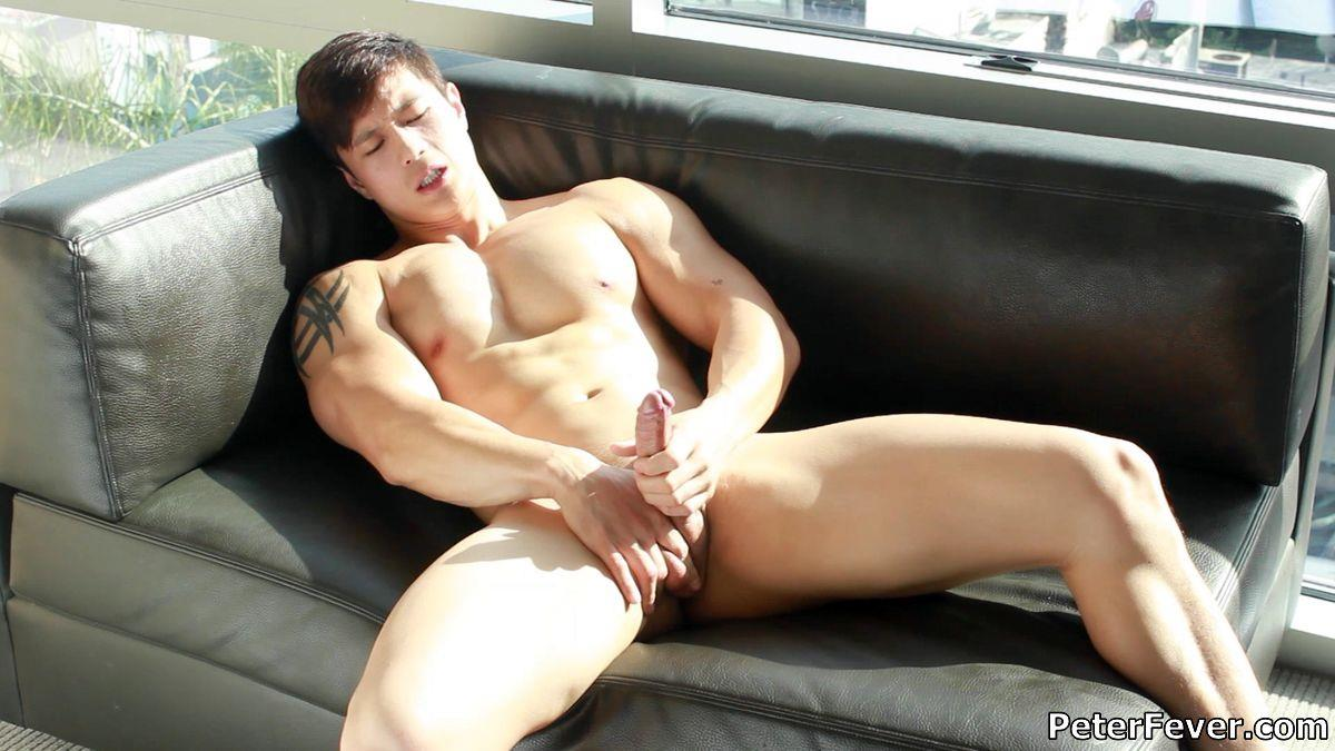 Peter Fever Peter Le Muscular Naked Chinese Guy With Big Uncut Cock Amateur Gay Porn 12 Muscular Asian Peter Le Jerking His Big Uncut Asian Cock