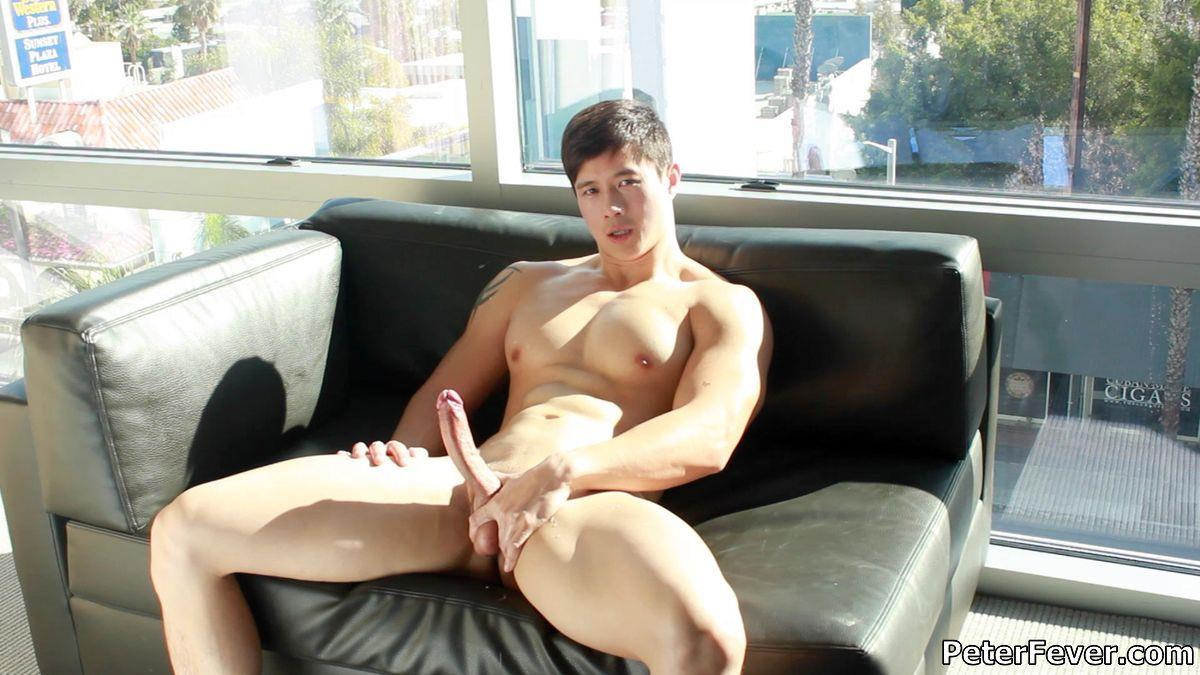 Peter Fever Peter Le Muscular Naked Chinese Guy With Big Uncut Cock Amateur Gay Porn 31 Muscular Asian Peter Le Jerking His Big Uncut Asian Cock