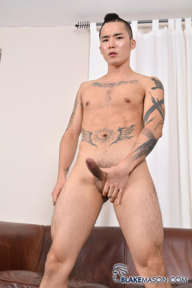 Blake Mason Yoshi Kawasaki Asian Twink Jerking Off Amateur Gay Porn 08 Japanese Twink Stroking His Big Asian Cock