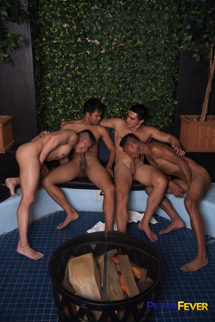 Peter-Fever-John-Rene-and-Alec-Cruz-and-Axel-Kane-and-Jessie-Lee-Big-Asian-Cocks-09 Impromptu Asian Orgy At An Asian Bathhouse